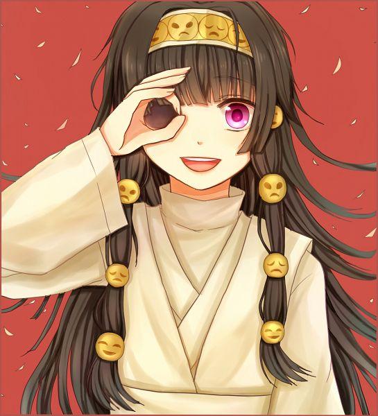Tags: Anime, Pixiv Id 3227176, Hunter x Hunter, Alluka Zoldyck, Smiley Face, Fanart, Pixiv