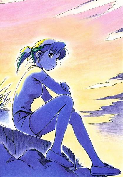 Tags: Anime, Ashinano Hitoshi, Yokohama Kaidashi Kikou, Alpha Hatsuseno, Scan, Manga Color