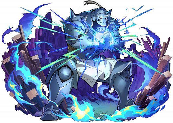 Tags: Anime, studioking, Fullmetal Alchemist Brotherhood, Fullmetal Alchemist, Boku & Dragons, Alphonse Elric, Official Art