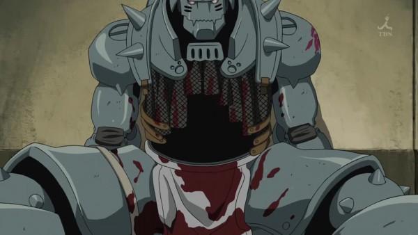 Tags: Anime, Fullmetal Alchemist, Fullmetal Alchemist Brotherhood, Alphonse Elric, Loin Cloth, Screenshot
