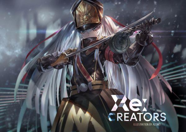 Tags: Anime, Azomo, Re:Creators, Altair (Re:Creators), Pixiv, Fanart, Revision, Fanart From Pixiv
