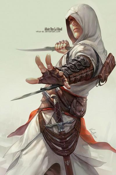 Tags: Anime, Virus Ac74, Assassin's Creed, Altair Ibn La-Ahad, Mobile Wallpaper, deviantART, Fanart, Fanart From DeviantART