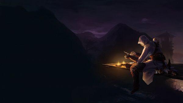 Tags: Anime, Tervola, Assassin's Creed, Altair Ibn La-Ahad, Facebook Cover, deviantART, Wallpaper, Fanart From DeviantART, Fanart