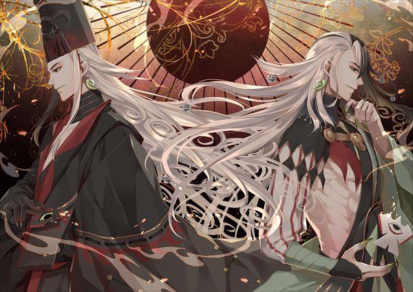 Tags: Anime, Kuramu, Fate/Grand Order, Alter Ego (Ashiya Douman), Fanart From Pixiv, Pixiv, Fanart
