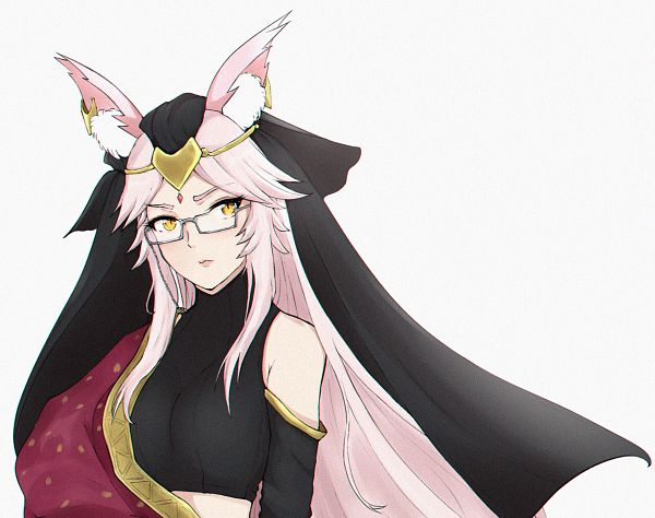 Tags: Anime, Pixiv Id 27882324, Fate/Grand Order, Caster (Fate/EXTRA), Alter Ego (Tamamo Vitch), Fanart, Fanart From Pixiv, Pixiv