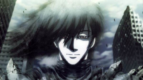 Tags: Anime, HELLSING, Alucard (Hellsing), Hellsing Ultimate, Fade Out, Disappearing, Black, Screenshot, Wallpaper