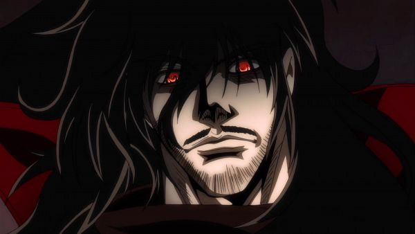 Tags: Anime, HELLSING, Alucard (Hellsing), Black, Dracula, Hellsing Ultimate, Vladcard (hellsing), Screenshot, Wallpaper