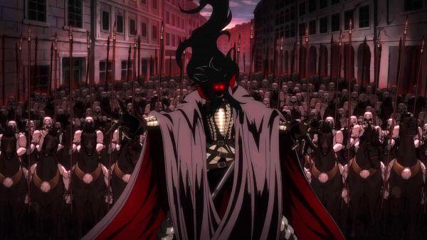 Tags: Anime, HELLSING, Alucard (Hellsing), Hellsing Ultimate, Army, Soldier, Dracula, Screenshot, Wallpaper