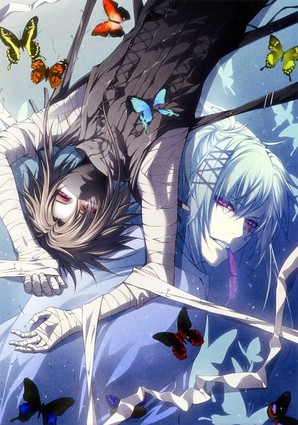 Tags: Anime, Usuba Kagerou, IDEA FACTORY, Wand of Fortune, Alvaro Garay, Assassin, B's LOG, Mobile Wallpaper