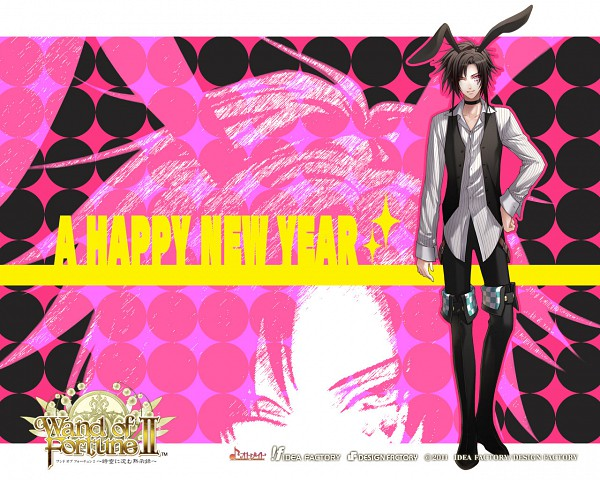 Tags: Anime, Wand of Fortune, Alvaro Garay, Wallpaper, Happy 2011, Official Art