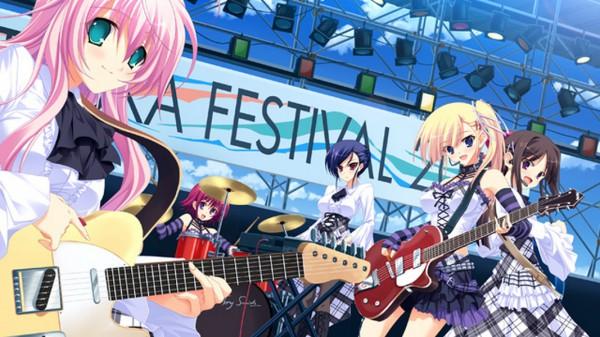 Tags: Anime, PeasSoft, Ama Ane, Yashima Otome, Takashina Natsumi, Mikoshiba Saki, Yashima Megumi, Yashima Yuzuki, Stage, CG Art, Facebook Cover