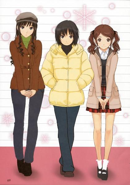 Tags: Anime, Takayama Kisai, Amagami, Nanasaki Ai, Nakata Sae, Morishima Haruka
