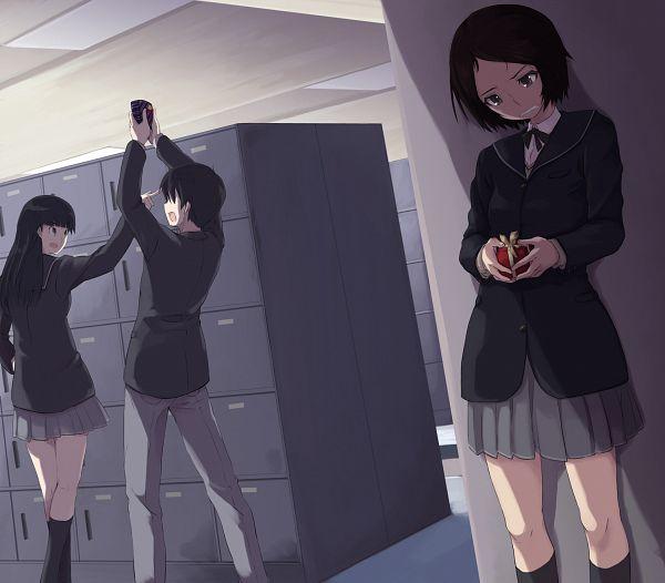 Tags: Anime, Wiori (Mashiro Miracle), Amagami, Ayatsuji Tsukasa, Tachibana Junichi, Kurosawa Noriko
