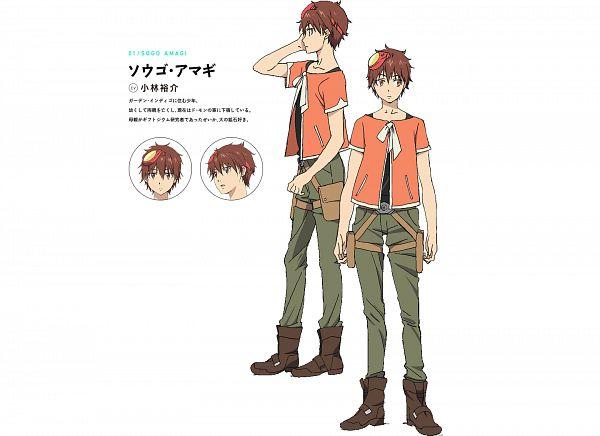 Tags: Anime, Takahashi Yuuichi, 8-bit (Studio), Comet Lucifer, Amagi Sougo, PNG Conversion, Official Art, Cover Image