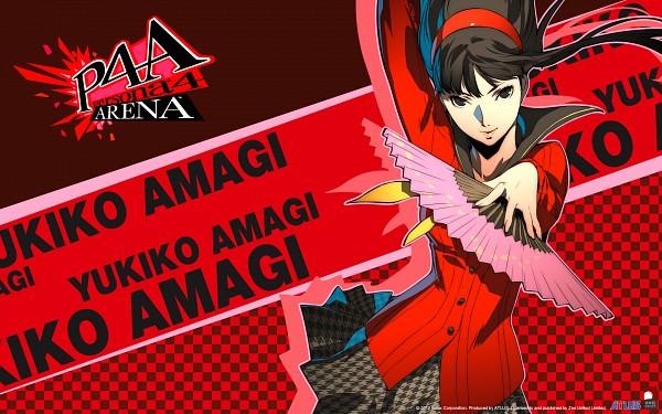 Tags: Anime, Soejima Shigenori, Atlus, Persona 4: The Ultimate In Mayonaka Arena, Shin Megami Tensei: PERSONA 4, Amagi Yukiko, Official Art, Official Wallpaper, Wallpaper