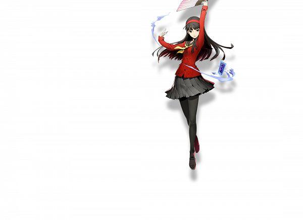 Tags: Anime, Higuchi Konomi, Arc System Works, Blazblue: Cross Tag Battle, Shin Megami Tensei: PERSONA 4, Amagi Yukiko, Official Art