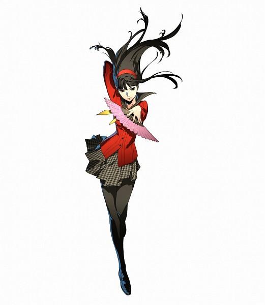 Tags: Anime, Soejima Shigenori, Atlus, Persona 4: The Ultimate In Mayonaka Arena, Shin Megami Tensei: PERSONA 4, Amagi Yukiko, Houndstooth Pattern, Official Art