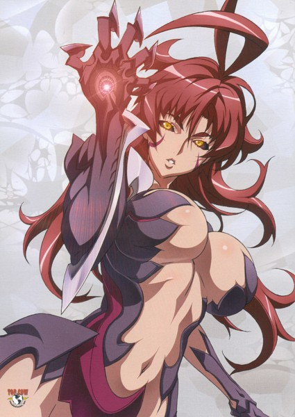 Tags: Anime, Witchblade, Amaha Masane, Official Art, Mobile Wallpaper