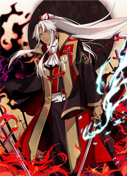 Tags: Anime, Kuramu, Fate/Apocrypha, Amakusa Shirou Tokisada, Kotomine Shirou (Fate/Apocrypha), Pixiv, Fanart, Mobile Wallpaper, Fanart From Pixiv
