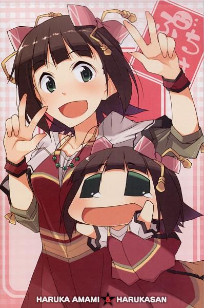 Tags: Anime, Akaneyuki, Puchimasu!, THE iDOLM@STER, Amami Haruka, Haruka-san