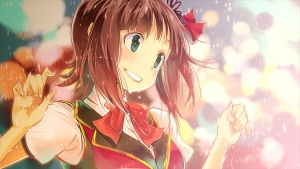 Tags: Anime, Yae (Artist), THE iDOLM@STER, Amami Haruka, Wallpaper, Fanart