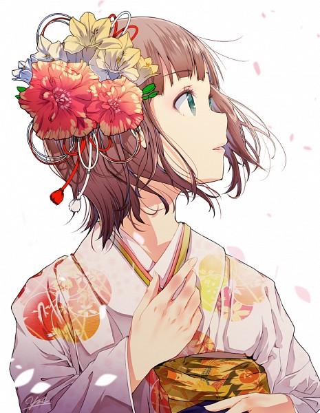 Tags: Anime, Yae (Artist), THE iDOLM@STER, Amami Haruka, Fanart From Pixiv, Fanart, Pixiv