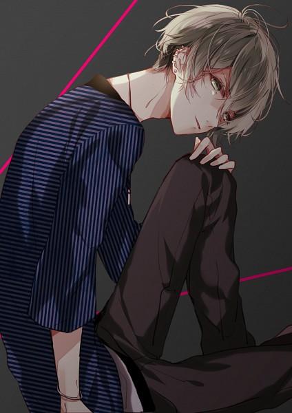 Tags: Anime, MikanWool, New Danganronpa V3, Amami Rantarou, Fanart From Pixiv, PNG Conversion, Mobile Wallpaper, Pixiv, Fanart