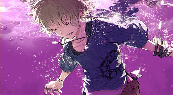 Tags: Anime, Pixiv Id 726106, New Danganronpa V3, Amami Rantarou, Fanart, Fanart From Pixiv, Facebook Cover, Pixiv