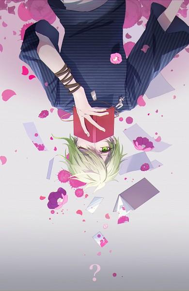 Tags: Anime, Pixiv Id 10821330, New Danganronpa V3, Amami Rantarou, Unusual Colored Blood, Mobile Wallpaper, Fanart, Fanart From Pixiv, Pixiv
