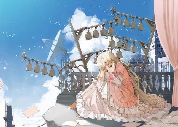Tags: Anime, Amamiya Chiharu, Lonely, Pixiv