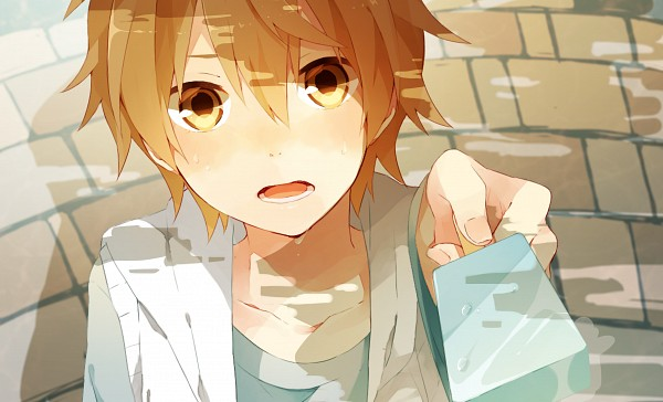 Tags: Anime, Pixiv Id 2743721, Kagerou Project, Amamiya Hibiya, Upscale, End Cards, Wallpaper
