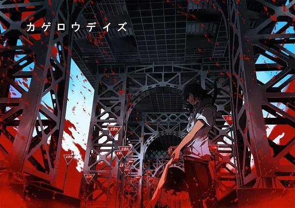 Tags: Anime, Toda Youkon, Kagerou Project, Amamiya Hibiya, Fanart From Pixiv, Pixiv, Fanart