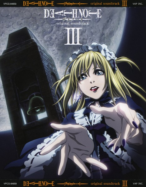 Tags: Anime, MADHOUSE, DEATH NOTE, Amane Misa, CD (Source), Official Art, Misa Amane