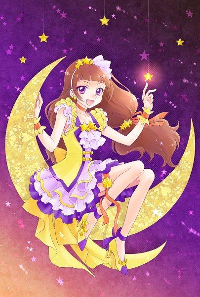 Tags: Anime, Pixiv Id 10336702, Go! Princess Precure, Amanogawa Kirara, Yellow Footwear, Twitter, Fanart From Pixiv, Pixiv, Fanart