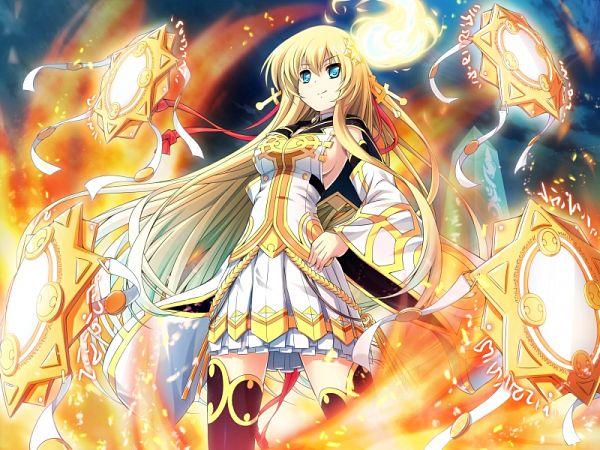 Tags: Anime, Escu:de, Kanojo Wa Sora Ni Inoranai, Amaterasu (Kanojo Wa Sora Ni Inoranai), CG Art
