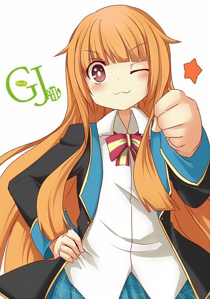 Tags: Anime, Pixiv Id 2783934, GJ-bu, Amatsuka Mao, Bro Fist