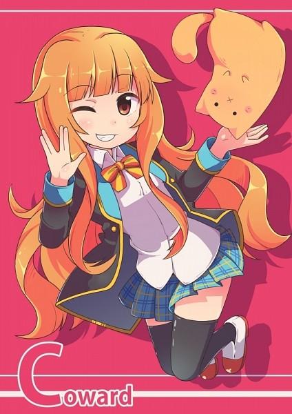 Tags: Anime, Jito (Pixiv75581), GJ-bu, Amatsuka Mao, Vulcan Salute, Comic Market 87, Fanart From Pixiv, Comic Market, Pixiv, Fanart, Mobile Wallpaper