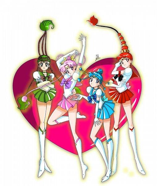 Tags: Anime, Marioanello, Bishoujo Senshi Sailor Moon, Sailor Ceres, Cere Cere, Sailor Vesta, Palla Palla, Ves Ves, Sailor Juno, Jun Jun, Sailor Pallas, Amazoness Quartet