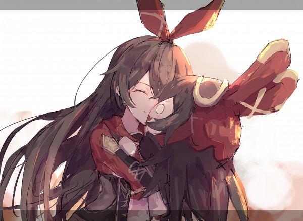 Tags: Anime, Pixiv Id 45847876, Genshin Impact, Amber (Genshin Impact), Explosive Puppet, Fanart From Pixiv, Pixiv, Fanart