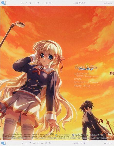 Tags: Anime, Tsukasa Yuuki, Cotton Soft, Amber Quartz, Andou Subaru, Mochizuki Nayuta, Official Art, Scan
