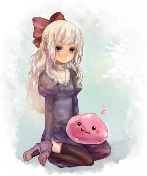 Tags: Anime, Ameiro (Pixiv8601), RAGNARÖK ONLINE, Poring, Pixiv