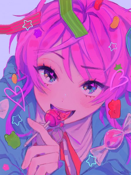 Tags: Anime, Pixiv Id 34801948, Hypnosis Mic -Division Rap Battle-, Amemura Ramuda, Jelly Beans, Twitter, Fanart