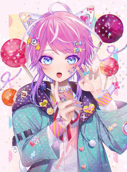 Tags: Anime, Amu224, Hypnosis Mic -Division Rap Battle-, Pokémon, Amemura Ramuda, Jigglypuff, Pixiv, Fanart, Fanart From Pixiv