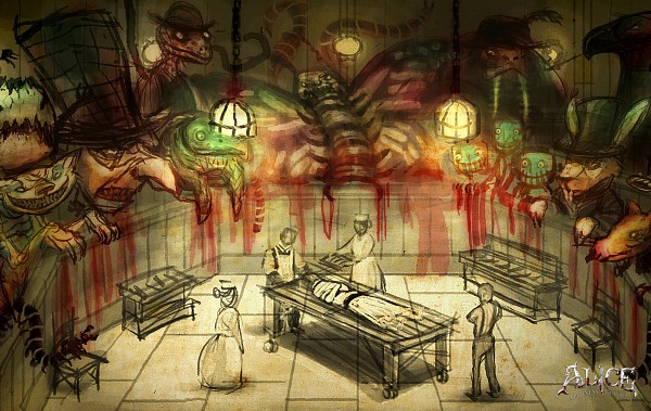 Tags: Anime, American McGee's Alice: Madness Returns, Wallpaper, Official Art, Official Wallpaper