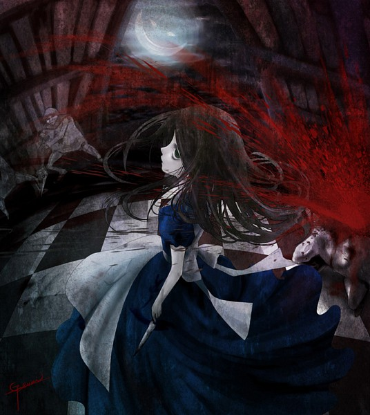 Tags: Anime, Alice in Wonderland, American McGee's Alice, Alice (American McGee's), Cheshire Cat
