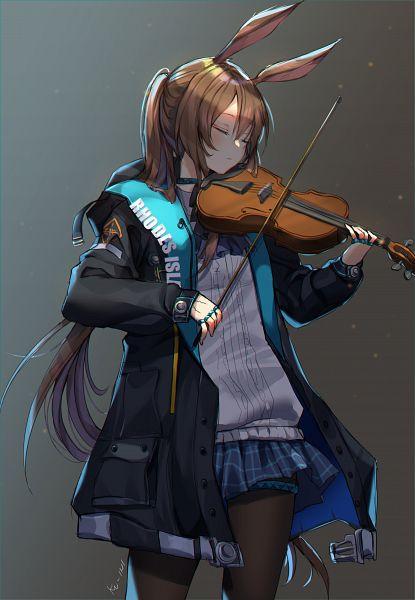 Tags: Anime, KU-INI, Arknights, Amiya