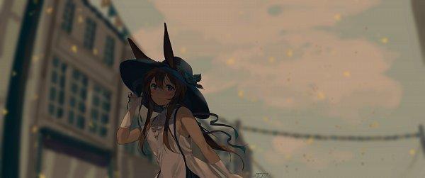 Tags: Anime, Pixiv Id 44390931, Arknights, Amiya, Fanart From Pixiv, Pixiv, Fanart