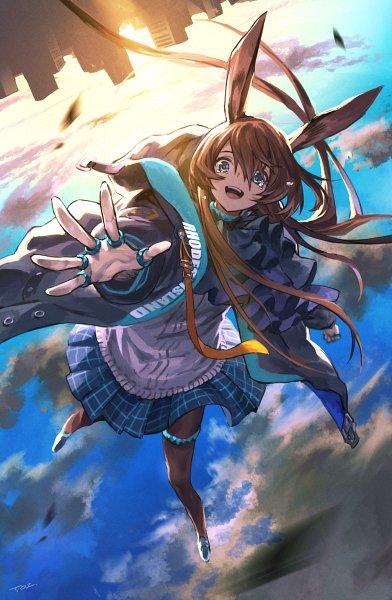 Tags: Anime, Pixiv Id 50456568, Arknights, Amiya, Pixiv, Fanart, Fanart From Pixiv