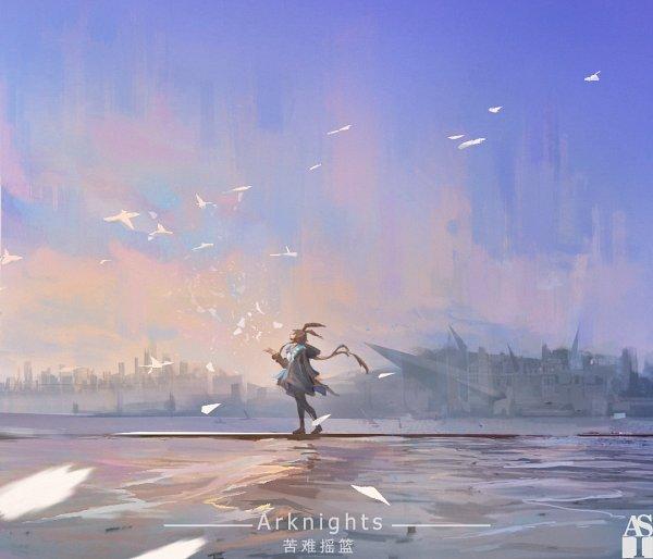 Tags: Anime, Pixiv Id 13748549, Arknights, Amiya, Fanart From Pixiv, Pixiv, Fanart