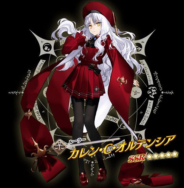 Tags: Anime, Morii Shizuki, DELiGHTWORKS, Fate/Grand Order, Amor (Caren), Caren Hortensia, Official Art